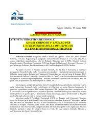 Articolo in PDF - FIPE - Federazione Italiana Pesistica