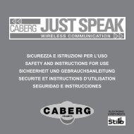 sicurezza e istruzioni per l'uso safety and instructions for use ...