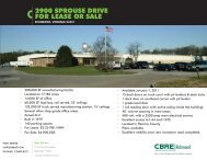 2900 Sprouse Drive Flyer - CBRE