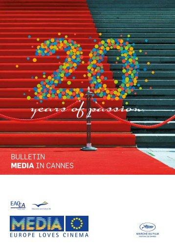 BULLETIN MEDIA IN CaNNEs - MEDIA Desk Deutschland
