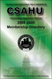 2008-2009 Membership Directory - Fairway Graphics, LLC