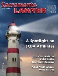 A Spotlight on SCBA Affiliates - Sacramento County Bar Association