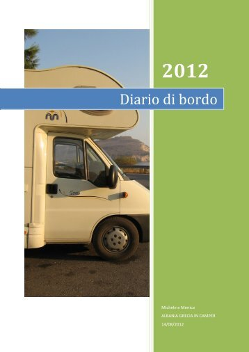 Diario di bordo - Camperlife