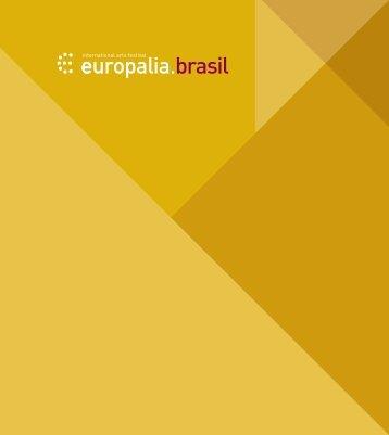 Catálogo Europalia – Volume 3 - Funarte