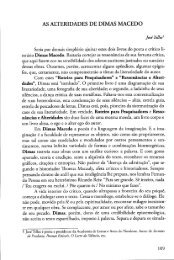 As Alteridades de Dimas Macedo - Jose Telles