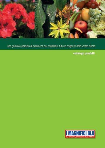 Scarica il Catalogo Prodotti - Imagnificiblu.it
