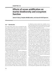 Barry et al 2011 Ocean Acidification OUP book