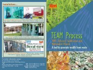 Biogas from kitchen waste - TERI