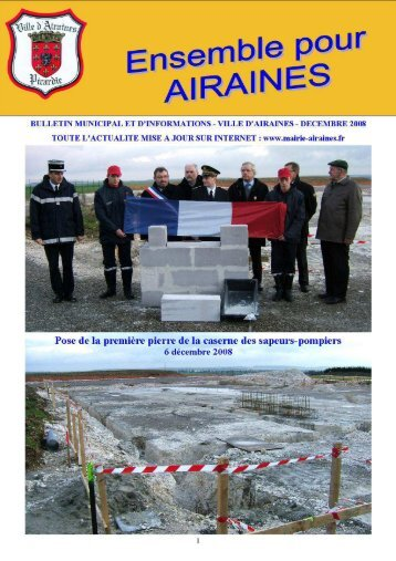 bulletin municipal - Mairie d'Airaines