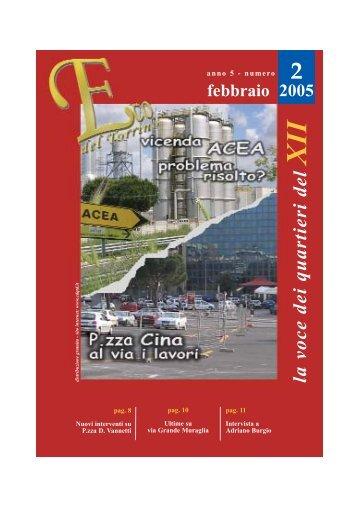 n° 2 - febbraio - comitato di quartiere torrino decima