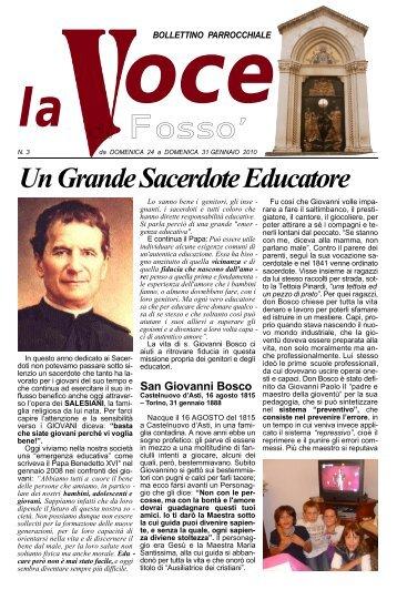Un Grande Sacerdote Educatore