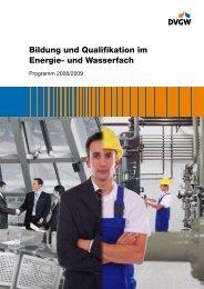 Bildung und Qualifikation im Energie- und Wasserfach - media fire
