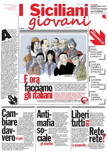 FOGLIO - marzo 2013 - I Siciliani giovani