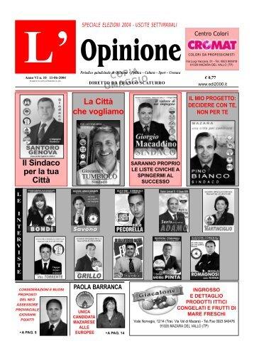 Anno VI n°10 11-06-2004 - teleIBS
