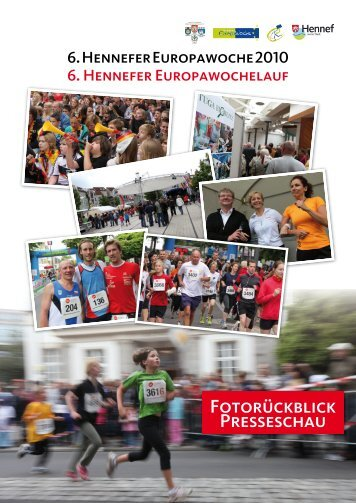Fotorückblick Presseschau - Werbegemeinschaft Hennef