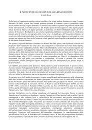 IL NOVECENTO E LE SUE RIVISTE ALLA RESA DEI CONTI - CIRCE