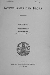 North American Flora: Agaricales, Agaricaceae (Vol. 10 ... - MykoWeb