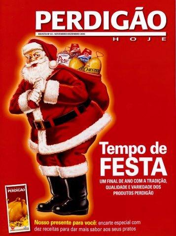 Revista BRF Novembro / Dezembro 2005 Edição 55 Arquivo PDF