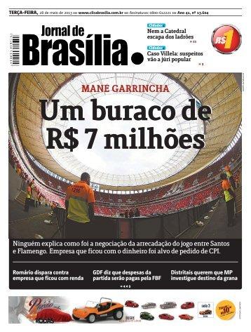 MANÉ GARRINCHA - Brasiliense
