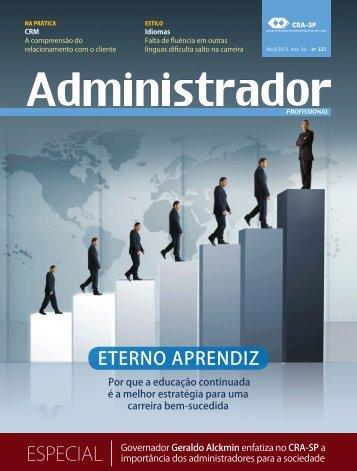 ESPECIAL - Conselho Regional de Administração de São Paulo