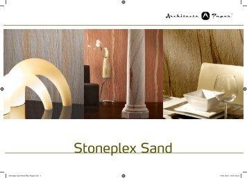 AS Creation Wandverkleidung Stoneplex Sand gibts bei www.decke-wand-boden.de