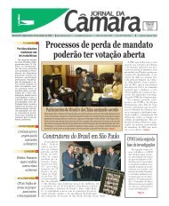 Jornal da Câmara de 28 de agosto - Câmara dos Deputados