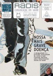 NOSSA MAIS GRAVE DOENÇA - Portal ENSP - Fiocruz
