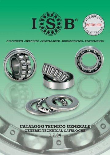 CATALOGO TECNICO GENERALE 1.7.04