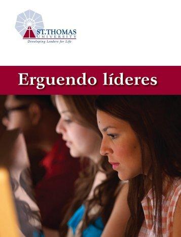 Erguendo líderes - St. Thomas University