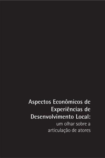 Aspectos Econômicos de Experiências de Desenvolvimento ... - Polis