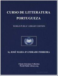 CURSO DE LITTERATURA PORTUGUEZA - World eBook Library