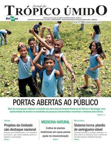 outubro a dezembro/04 - Embrapa Amazônia Oriental