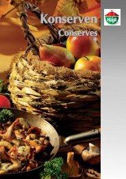 Konserven - bei Hügli Food Service