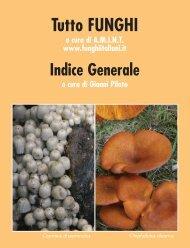 Download indice in formato pdf - Funghi e Fiori in Italia