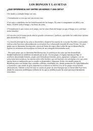 LOS HONGOS Y LAS SETAS.pdf - Revilla de Pomar