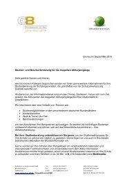 Per Fax - am Werdenfels-Gymnasium