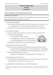 Grundwissen der 8. Klasse - am Werdenfels-Gymnasium