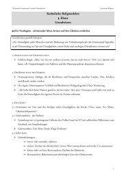 Grundwissen der 5. Klasse - am Werdenfels-Gymnasium