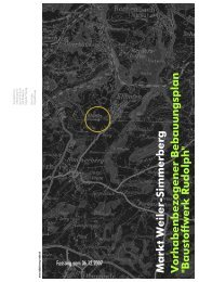 Zum Bebauungsplan-Text - Weiler-Simmerberg