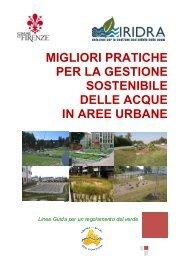 Migliori pratiche per la gestione sostenibile delle acque in aree urbane