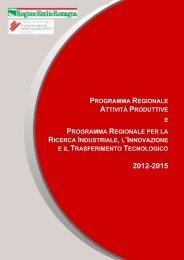 Programma - Regione Emilia-Romagna
