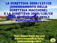 Direttive macchine e direttiva uso sostenibile ... - AgroNotizie