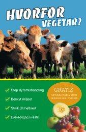 Hvorfor vegetar? - Dansk Vegetarforening