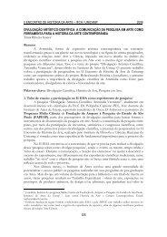 Divulgação artístico-científica - Unicamp