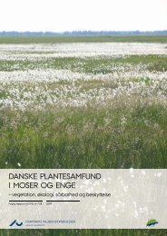 Danske plantesamfund i moser og enge – vegetation, økologi ...