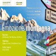 Emozioni di montagna - Ladurns