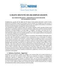 IL GELATO: MOLTO PIÙ CHE UNA SEMPLICE ... - Food Coaching