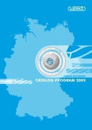 Catalog Program Complete - Werkö GmbH