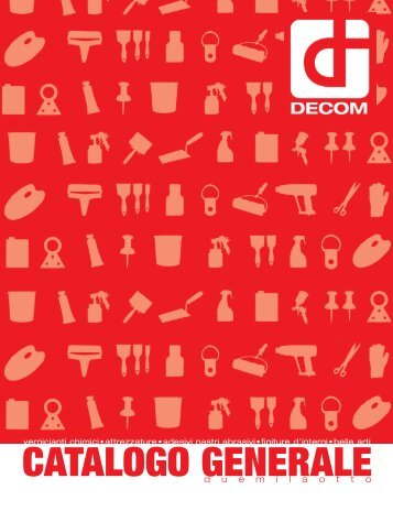 CATALOGO GENERALE - DecomBg