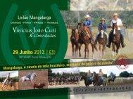 Catálogo p/ download (pdf) - Leilão Mangalarga | Vinicius João Curi ...